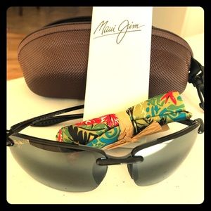 Other - Maui Jim Polarized Rimless Sunglasses (never worn)